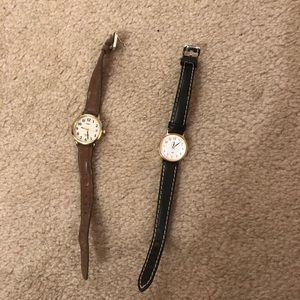 Two timex watches